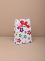 Daisy print gift box with velcro top (code 2299)